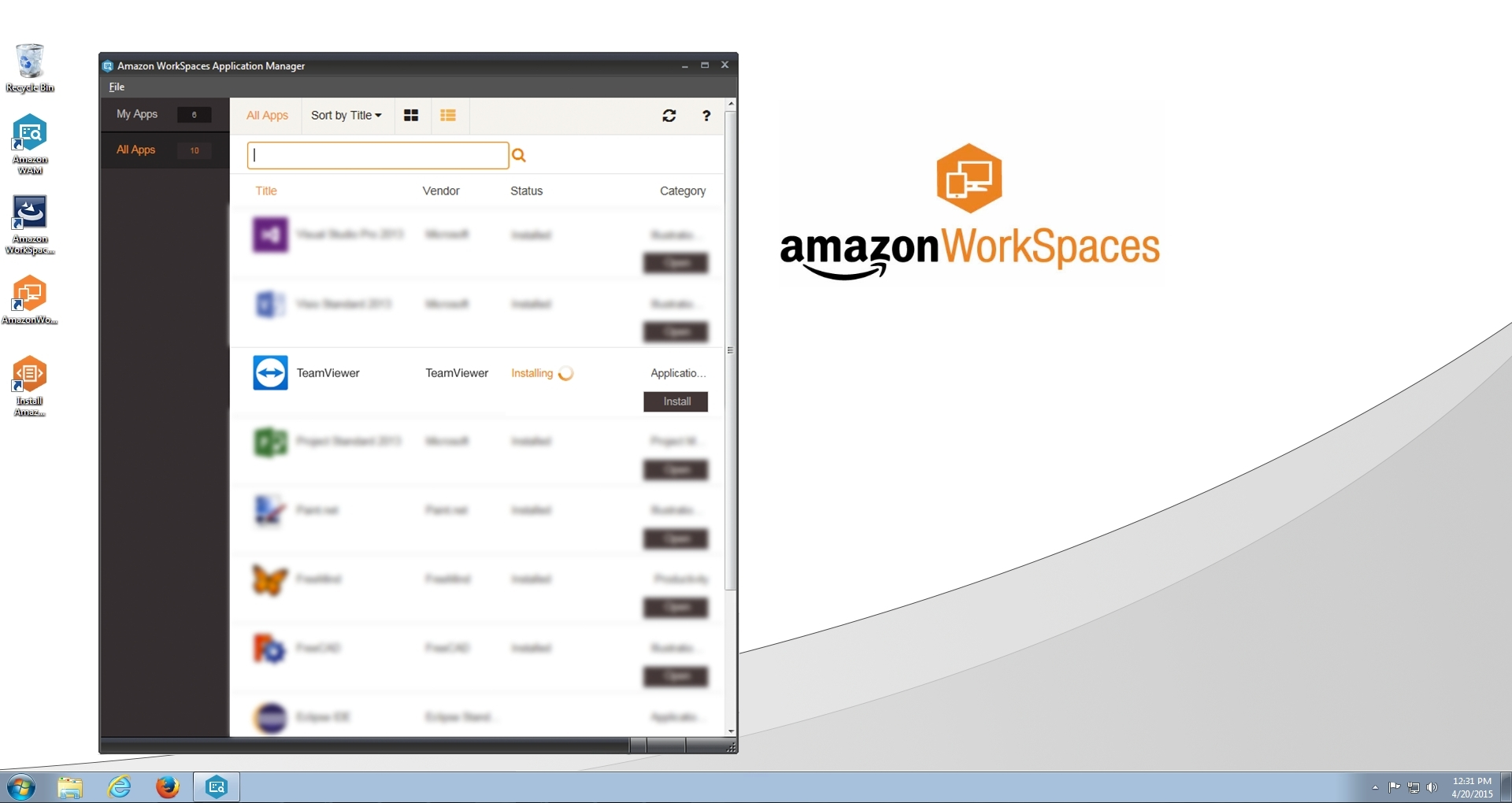 Aws Gmbh teamviewer now available on aws marketplace for desktop apps a