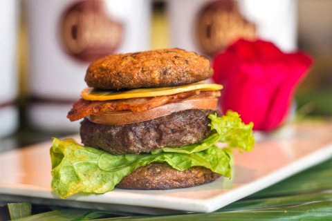 DoubleTree Cookie Burger from DoubleTree by Hilton Hotel Shenyang (Photo: Business Wire)