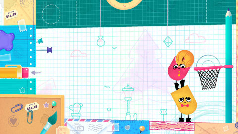 In this action-puzzle game, paper pals Snip and Clip must cut each other up to overcome tricky obstacles... or just to laugh their heads off (sometimes literally). (Photo: Business Wire)