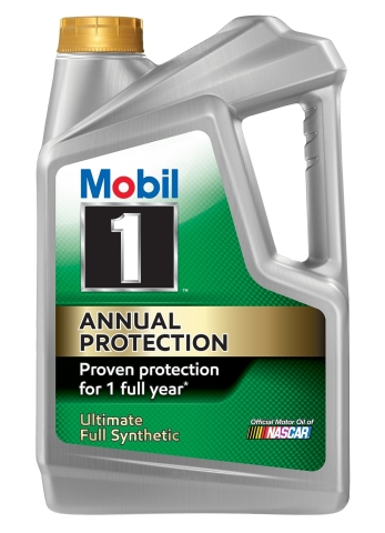 New Mobil 1 Annual Protection offers one year - or up to 20,000 miles - between oil changes. (Photo: Business Wire)