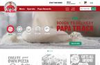 Papa Track allows customers to see the pizza process through each step: making, baking, boxing, on its way, and delivered. (Photo: Business Wire)