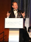 3M Chairman, President and Chief Executive Officer Inge Thulin accepts the 2017 Catalyst Award in New York City on March 8, 2017. (Photo: 3M)