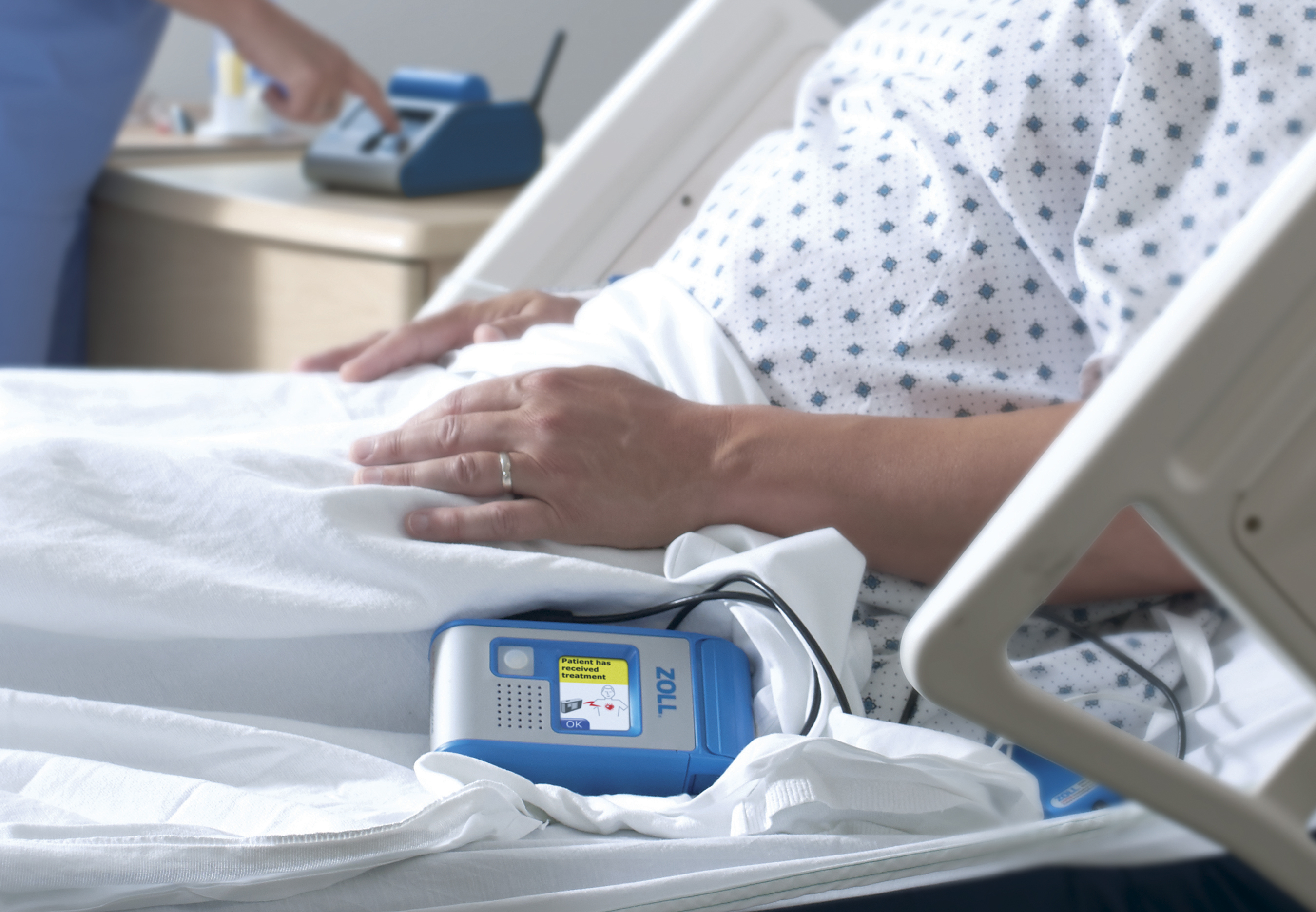 The ZOLL Hospital Wearable Defibrillator approved by FDA (Photo: Business Wire).