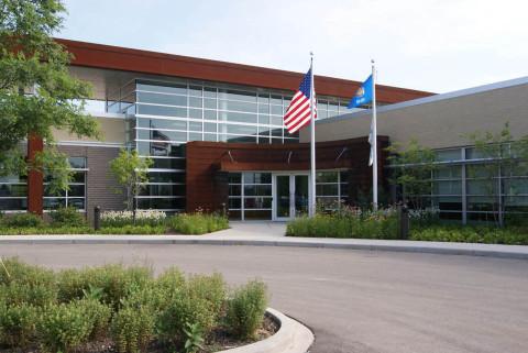 CBRE Client Experience Center-exterior (Photo: Business Wire)