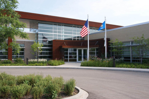 CBRE Client Experience Center-exterior (Photo: Business Wire)