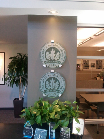 CBRE Client Experience Center - Certifications (Photo: Business Wire)
