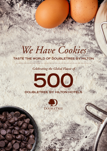We Have Cookies: Taste the World of DoubleTree by Hilton – the brand's first-ever global cookbook (Photo: Business Wire)
