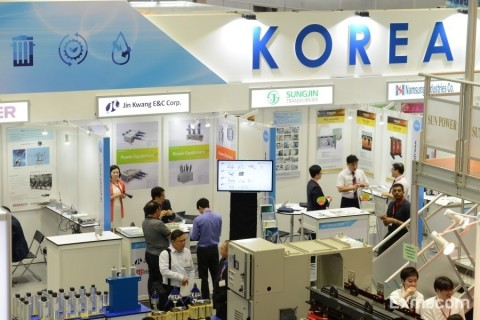 'Korea Pavilion at EPRE Malaysia 2015' (Photo: Business Wire)
