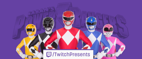 Twitch is livestreaming a 17-day marathon of the iconic Saban's Power Rangers TV series, spanning 23 ...