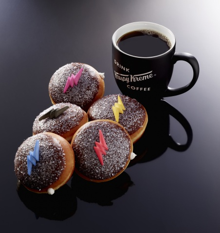 Krispy Kreme Doughnuts and Lionsgate have teamed up to promote the release of Saban's Power Rangers with the launch of Krispy Kreme's first-ever digital shop and real-life Power Rangers doughnuts. Saban's Power Rangers hits theaters nationwide on March 24. (Photo: Business Wire)