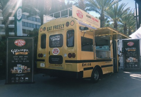 Enjoy Life Foods Takes Allergy-Friendly Snacking on the Road with Nationwide School Bus Tour (Photo: Business Wire)