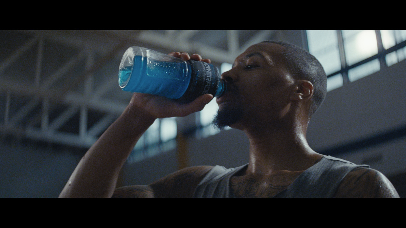 "Damian Lillard stars in new POWERADE ""Power Through"" campaign (Photo: Business Wire)"