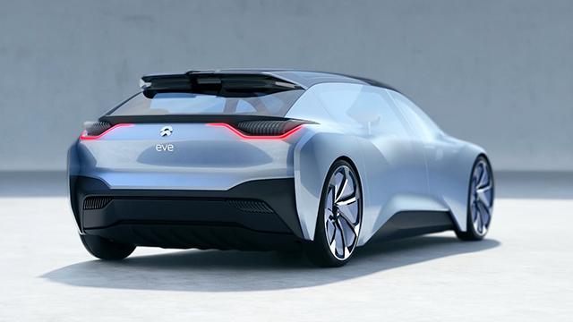 NIO EVE, autonomous vision car of the future