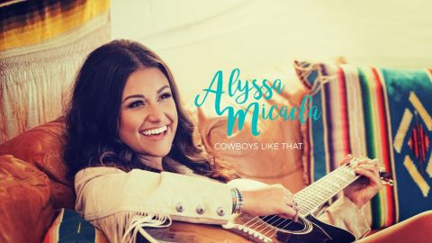 "Country Girl Alyssa Micaela Mixes Sass with Grit on New EP, ""Cowboys Like That"" (Photo: Liz Rose Records)"