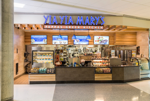 At HOU, you can enjoy a scrumptious Greek Salad at Yia Yia Mary's for less than $10. (Photo: Business Wire)