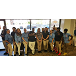 It takes a large team of smiling people to serve customers at Public Storage's largest facility in the world, at 133 2nd Street, Jersey City, New Jersey. (Photo: Business Wire)