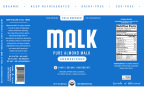 """MALK Organics releases new labels, removing the word """"milk"""" from all brand labels (Graphic: Business Wire)"""