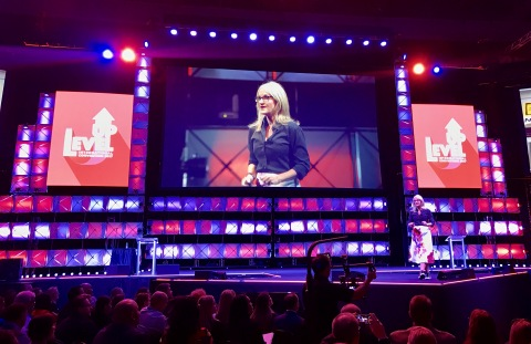 LegalShield's annual LevelUp convention drew thousands of entrepreneurs to the Cox Convention Center in Oklahoma City. (Photo: Business Wire)
