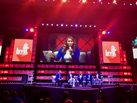 A group of LegalShield's Millennial Associates shared key insights about their business and career mindset at the LevelUp Convention in Oklahoma City. (Photo: Business Wire)