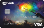 Olivia Ogba of Atlanta won U.S. Bank's first LGBT-themed debit card design contest with her patriotic creation. (Photo: U.S. Bank)