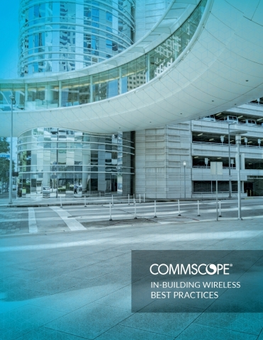 "CommScope has released the ""In-Building Wireless Best Practices"" eBook in an effort to continue educating business owners of various enterprises about IBW.  (Photo: Business Wire)"