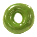 Krispy Kreme Doughnuts will change the name of its iconic Original Glazed doughnut on Friday, March 17. The green O'riginal Glazed doughnut is available at participating shops in the U.S. and Canada. (Photo: Business Wire)
