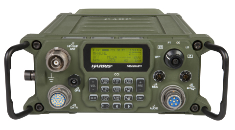 Harris Falcon III® RF-300H wideband HF manpack radio system (Photo: Business Wire)