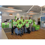 Regions Bank associates at one of the company's Germantown, Tenn., branches photographed in April 2016. Regions was recently recognized as the highest-ranked bank for customer experience in the annual Temkin Experience Ratings. (Photo: Business Wire)