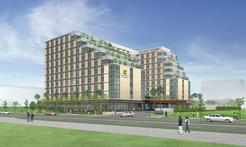 Hyatt Place Tokyo Bay will be located at Urayasu City in Chiba Prefecture, less than three miles fro ...