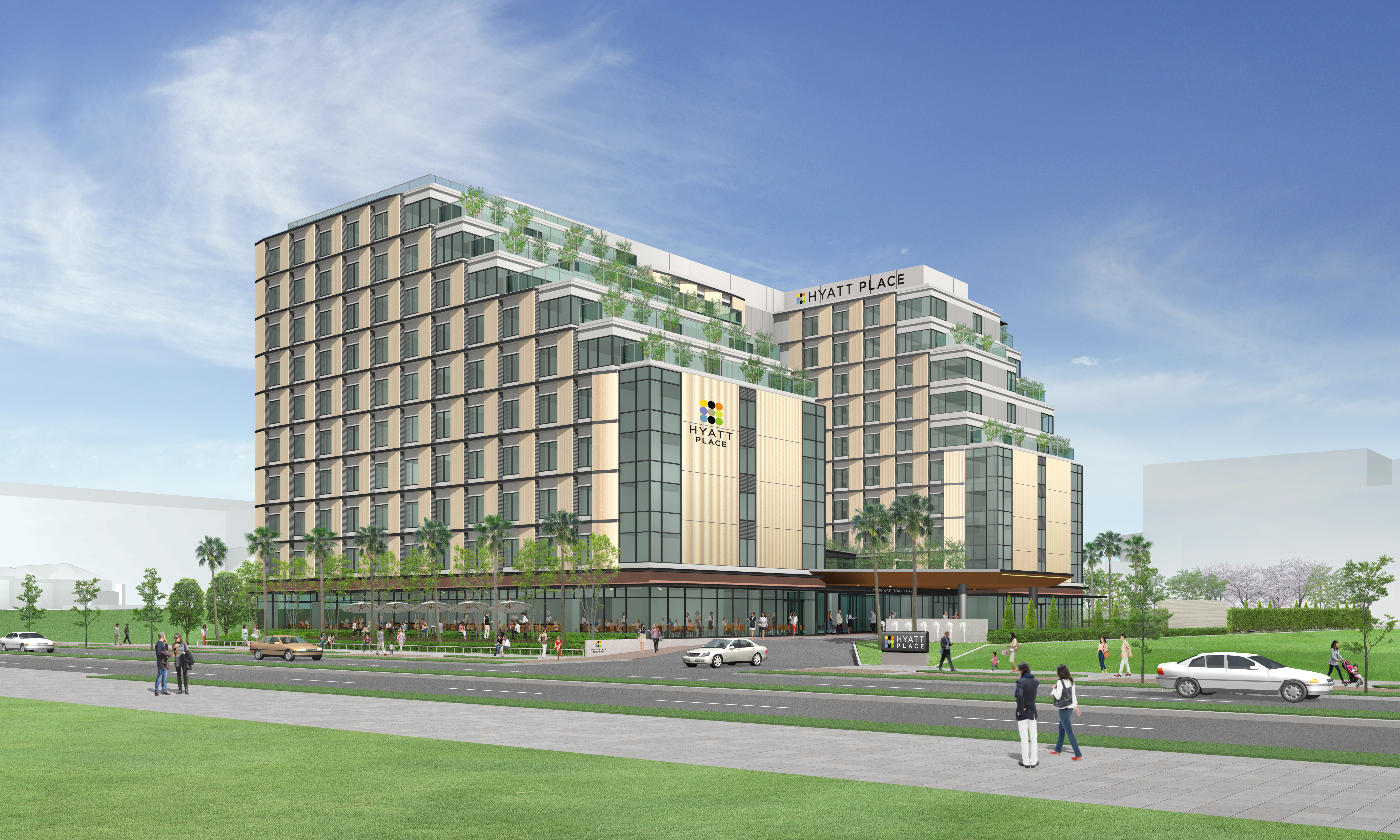 Hyatt Place Tokyo Bay will be located at Urayasu City in Chiba Prefecture, less than three miles from Tokyo Disney Resort, one of Tokyo's premier travel destinations. (Graphic: Business Wire)