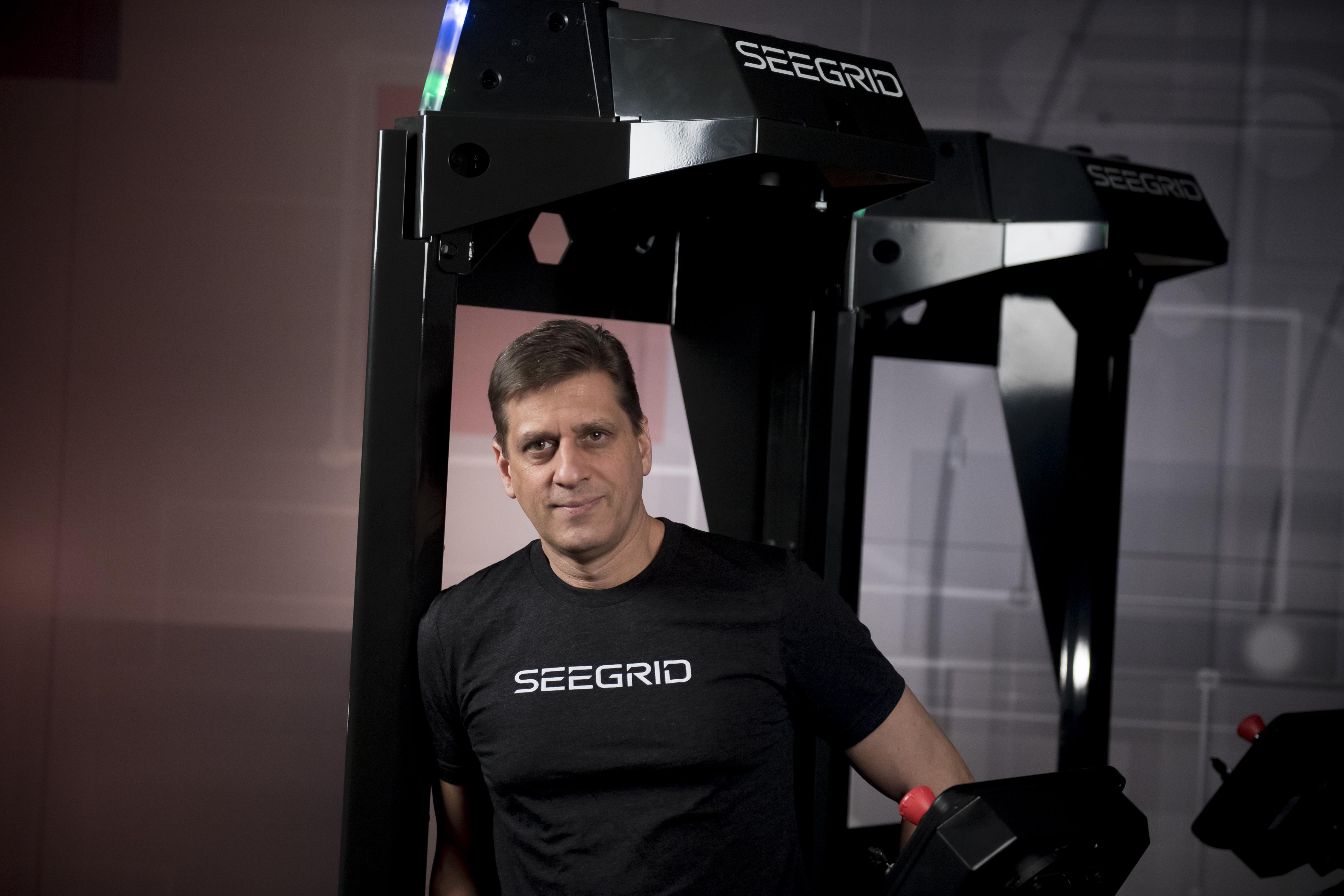 Seegrid CFO, Steven Barto (Photo: Business Wire)