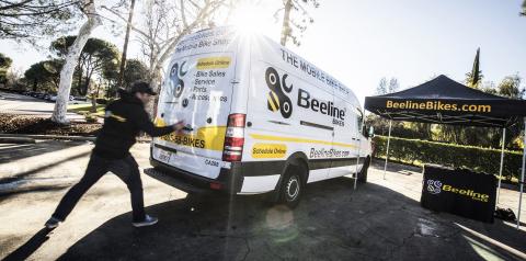 Beeline Bikes - The mobile bike shop (Photo: Business Wire)