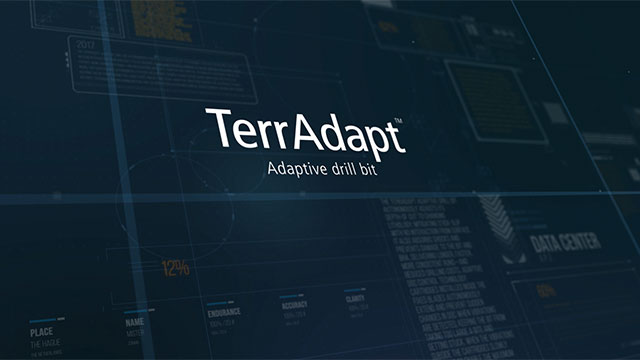View the TerrAdapt™ adaptive drill bit animation above. The TerrAdapt drill bit delivers dramatic improvements in drilling economics by using automation to mitigate downhole dysfunctions that cause inefficient drilling and costly tool failures.
