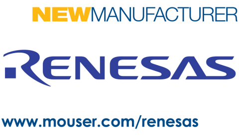 Mouser Electronics and Renesas Electronics Corporation announce a global distribution partnership. Launching at Embedded World, the partnership focuses on the Renesas Synergy Platform featuring software, microcontrollers, and dev tools for IoT. (Graphic: Business Wire)