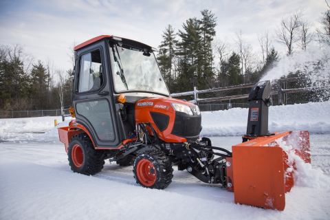 Kubota introduces its new BX80-Series with four models. (Photo: Business Wire)