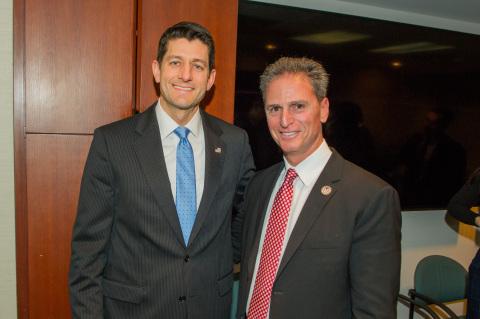House Speaker Paul Ryan (R., Wis), Adam DeVone (Photo: Business Wire)