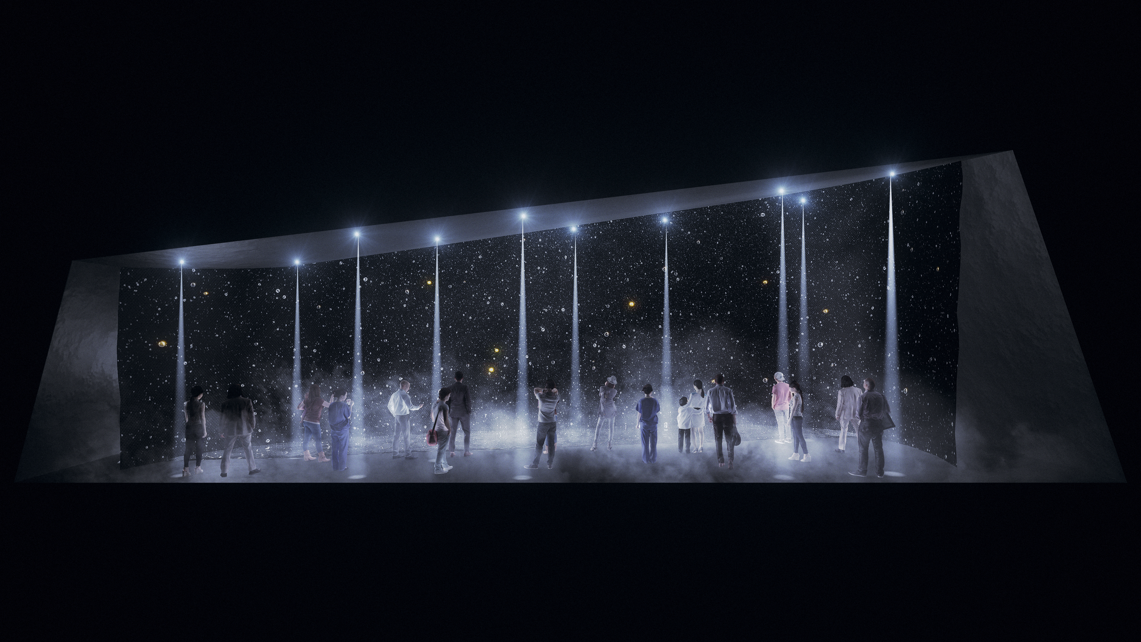 Panasonic's installation image at Milano Salone 2017 (Photo: Business Wire)