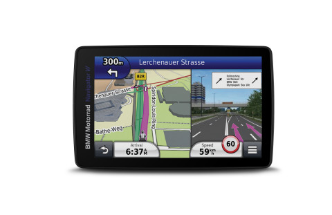 The new Garmin BMW Motorrad Navigator VI for motorcyclists. (Photo: Business Wire)