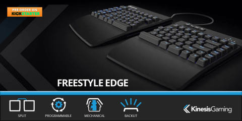 Freestyle Edge - The Ultimate Gaming Keyboard (Photo: Business Wire)