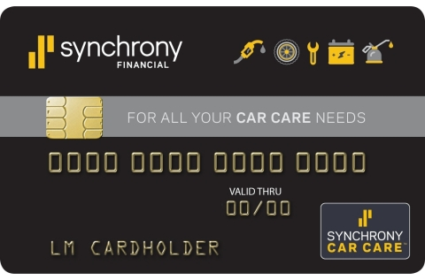 Complete auto care and fuel-ups available with new Synchrony Car Care Card. (Photo: Business Wire)