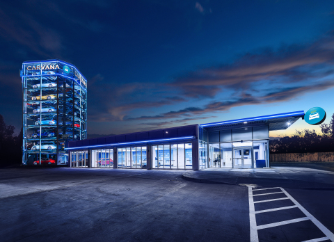 Carvana Opens Car Vending Machine in San Antonio – the Company's Third Car Vending Machine in Texas  ...