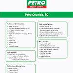 Petro Stopping Center - Columbia, SC
