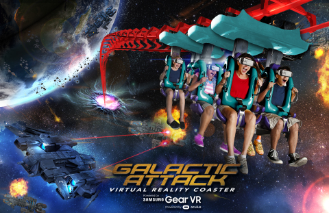 Six Flags New England, the Coaster Capital of New England, launches Galactic Attack Virtual Reality ...