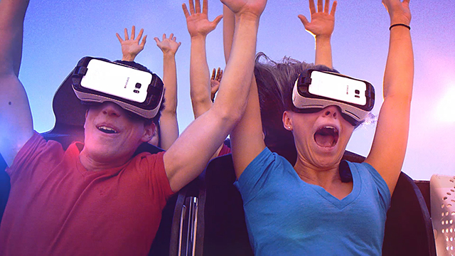 Six Flags New England Debuts Galactic Attack Virtual Reality Coaster: World's First Mixed Reality Experience.