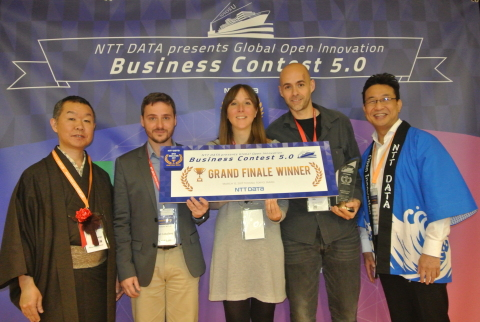 Grand Finale winner of the Open Innovation Business Contest (Photo: Business Wire)