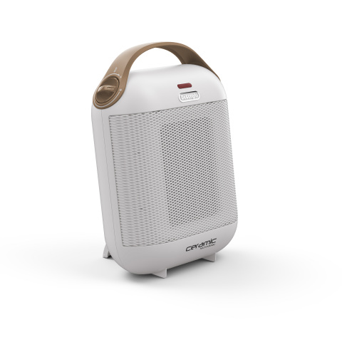 De'Longhi Capsule SafeHeat Compact Ceramic Heater in White (Photo: Business Wire)
