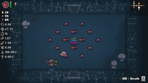 The Binding of Isaac: Afterbirth+ is a dungeon-crawling shoot-'em-up that's a different game each and every time you play it. (Photo: Business Wire)