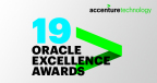 Accenture wins six Oracle Excellence Awards across Europe, bringing its total number of awards over the past 12 months to 19 (Graphic: Business Wire)