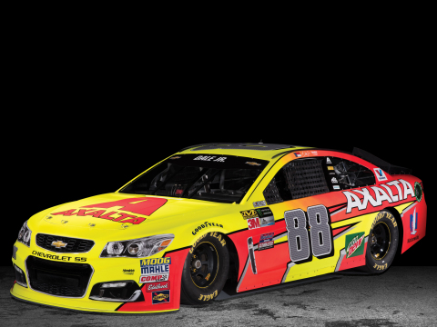 Axalta teams up with Ameristar Perimeter Security to feature the new 2017 paint scheme for the No. 88 Axalta Chevrolet SS for Spring Race Weekend at Phoenix International Raceway (PIR), on Sunday, March 19, 2017. (Photo: Axalta)