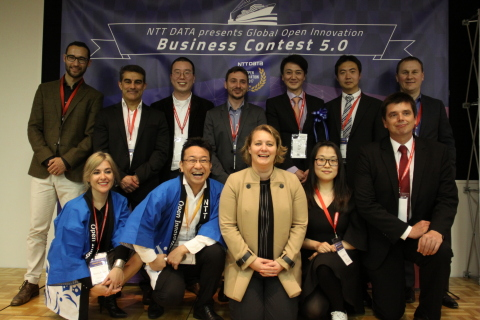 The 10 finalists of the Open Innovation Business Contest (Photo: Business Wire)